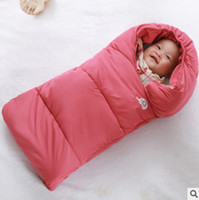Wholesale Shapes Sleeping Bags - sleeping bag for kids comfortable safe simple inspissate cavity anti-falling off quilt baby blanket silkworm cocoon-shaped quilt