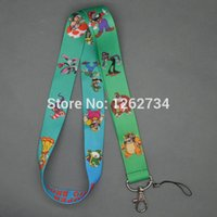 Wholesale Mario Cell Phone - Wholesale-Free Shipping Super Mario Bros Neck Strap Cell Phone ID Card Key Lanyard