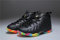 Wholesale Hardaway Shoes - New Kids Penny Hardaway Fruity Pebbles Olympic USA Eggplant Royal Basketball Shoes Cheap Boys Girls Air Foam One Sneakers For Sale