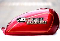 Wholesale NEW OEM QUALITY SUZUKI GN250 FUEL PETROL GAS TANK RED