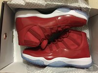 Wholesale Popular Culture - Cheap Men Women favorite Basketball Shoes air retro 11 gym red 11s popular high sports sneakers size eur 36-47