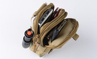 Waistpacks black saddlebags - Waterproof nylon tactical waist pouch outdoor sports travel hiking phone gadgets waist packs military fan saddlebag