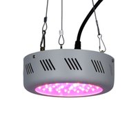 Wholesale Indoor Grow Lights Cheap - Energy-saving & Cheap 138W Led Grow Light 46X3W UFO Full Spectrum 9 band Hydroponic Lamp panel for indoor greenhouse tent plant Veg growth