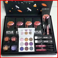 Kylie Fall Collection Jenner Lip kit Liquid Lipstick lipgloss ombretto power box grande palette viola alta luce regalo di Natale