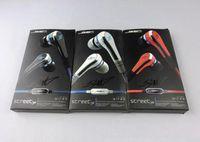 kulaklıklar mikrofonu yoksay toptan satış-Moda SMS Ses 50 cent Kulak kulaklıklar mic ile 50 cent ve sessiz düğme kulaklık SOKAK 50 Cent kulaklık 3 renkler MQ100