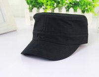 Wholesale Cadet Hats Wholesalers - Wholesale-1PC New Classic Women for Men Adustable Caps Vintage Army Cap Cadet Military Patrol Adjustable Outdoors Unisex Army Hats Free Ship