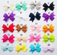 Wholesale Cute Ribbon Bows - Baby Girl Hair Accessories Cute Colors Newborn Baby Girl Headbands Ribbon Bow Headbands for Baby Girls New Arrival LY008