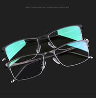 bbb718a1d82 2016 Nuovi Uomini Montature da vista Montature da vista Occhiali da vista  Carfia 8102 Occhiali da vista Occhiali da vista Frame Miopia Frame in  titanio