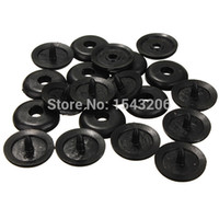 Wholesale Ford Buttons - 10pcs Seat Belt Buckle Holder Fasteners Clips Seat belt Stop Button For Ford small order no tracking
