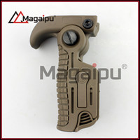 Wholesale Pistol Rail Mount - Magaipu Folding Foldable AK pistol Durable Nylon made Tactical Foregrip Fore Grip Fit 20mm Pictionary rail Mount
