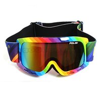 Wholesale Ski Sled - Wholesale-hot sale POLISI P815-PI Sled Skate Sporty UV400 Goggles Ski Snowboard Eyewear Anti-Fog ski eyewear Free Shipping