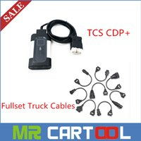 Wholesale Truck Diagnostic Sale - 2015 Hot Sale tcs cdp pro trucks with fullset 8 cdp truck cable with 2014.2 free keygen software DHL free shipping