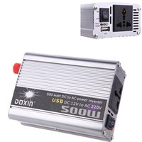 Wholesale Solar Power Grid Tied - 500Watt Accept Home Car Solar Power Modifid Sine Wave 500W Watt DC12V AC 120 230V Micro off Grid Tie Inverter
