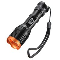 Wholesale Cree Flashlight Order - 2000Lm Waterproof Super Bright CREE XML T6 white LED Zoomable Flashlight Torch+Batery+Charger+360 Cycling Flashlight Holder order<$15 no tra