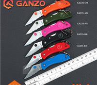 Wholesale Used Knife Set - Brand GANZO G623S. Mini Pocket Folding Knife EDC Blade. Portable small size for daily use