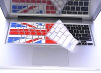 Wholesale-1pcs Flagge Silikon-Tastatur-Abdeckungs-Haut-Schutz für Macbook Mac Book Air Pro Retina 11 13 15 Laptop-Tastatur-Haut-Film