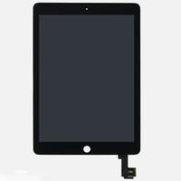 Wholesale pc screen digitizer resale online - LCD Screen Digitizer Assembly for IPad Air2 ipad Tablet PC Repair Parts Black White