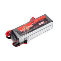 Wholesale Max Helicopter Rc - New Wild Scorpion Lipo Battery 14.8V 2200mAh 35C MAX 45C 4S T Plug for RC Car Airplane Helicopter Part order<$18no track