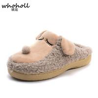 Wholesale Plush Slipper Minions - Winter Slippers 2016 Men women Dog Cotton Pantoufle Minion Slipper Home Indoor Floor Female Plush Covered Shoes CSS-419
