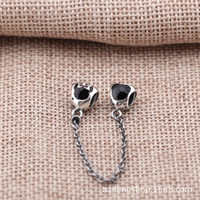 Wholesale Religious Bracelet Bulk - Pandora bulk Charms Silver 925 Miky and Mini Bead Big Hole For Pandora Bracelet 925 Original Jewelry Making PA0004-1