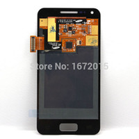Wholesale S Advance Display - Wholesale-Black LCD display for Samsung galaxy S Advance gt-i9070 i9070 touch screen with digitizer Assembly+Free tools,Free shipping !!!