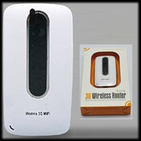 Wholesale Router 3g Sim Battery - by DHL or EMS 20 pieces 2-in-1 pocket Wifi Wireless 3G Router Mifi Modem wIth SIM Slot Hotspot 3000mAh battery