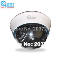 Wholesale Webcam Dome Wifi - NEO COOLCAM Wireless WiFi dome IP Camera NightVision Infrared Security Surveillance Network Webcam Internet IP Camera