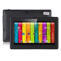 Wholesale Cheap Tablets Google Play - Cheap Original 7inch Android Tablet PC Boxchip Q8H Allwinner A33 quad core Android 4.4 2400mah support 3G dongle