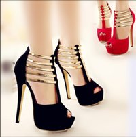 sapatos femininos de dança de salão venda por atacado-2019 New Luxury Gold Strap Sapatos de Dança de Salão Salto Alto Sandálias Das Mulheres Saltos Elegantes Sapatos De Casamento De Noiva