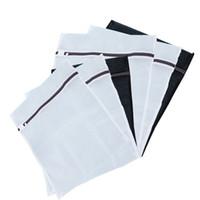 conjuntos de sujetador mixto al por mayor-6 piezas de bolsas de lavandería de malla de tamaño mixto, sujetador de lavado, bolsas de secado de lencería con cremallera, bolsas de máquina de lavado protectoras, 3 medianas y 3 grandes