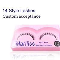 Wholesale New Look Hair - Makeup False Eyelashes Handmade New Fashionable Natural looking False Eyelashes extension Glamour Lash Soft and Beauty