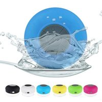 Wholesale surround sound car - Portable Waterproof Wireless Bluetooth Speaker Shower Car Handsfree Receive Call mini Suction Phone IPX4 speakers box player