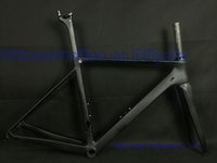 Wholesale 53cm Carbon Road Bike - Two year warranty.accept customer logo,DIY paint road carbon bike frame T1000 UD weave frameset racing bicycle frames BB86 black matte