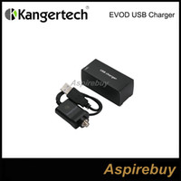 Wholesale Kanger Chargers - 100% Original Kangertech USB Charger Electronic Cigarette USB Charger Kanger EVOD USB Charger Fit for kanger evod-usb battery