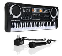 Wholesale keyboard piano 61 resale online - Hot Keys Digital Music Electronic Keyboard Key Board Gift Electric Piano Gift New