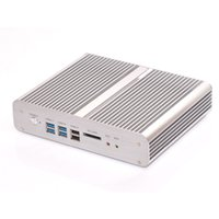 Mini Itx Hdmi Wifi Kaufen -Wholesale-Intel Broadwell Core i5 5200u 4G RAM 256G SSD HD5500 Fanless Mini-ITX PC HTPC Computer Case Windows-8.1 WiFi Dual-HDMI-Lan RS232