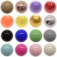 Wholesale Bola Silver Pregnancy Necklace - Harmony ball Pregnancy Ball Bola Angel Ball 16 styles to choose newest design pregnant women caller Mexican Bola colours ball DIY choice