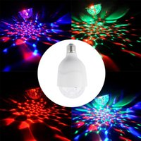 Commercio all'ingrosso- Lampadina da discoteca 3W E27 Stage Lampadina LED Strobe Light Lampadina Party Light per la casa Festa compleanno DJ Bar Xmas Wedding Show Club Pub
