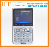 [Véritable] SKYSAT S-8002 DVB-S2 HD Satellite Finder MPEG-4 Satellite Meter Récepteur satellite décodeur