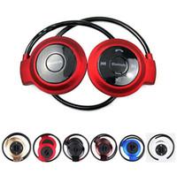 ingrosso bluetooth vivavoce s5-Mini 503 Wireless Bluetooth Headphone Stereo Vivavoce Sport Musica Auricolare per Iphone 6 6s 5s Ipad Samsung S6 S5 HTC Apple Auricolari