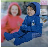 Wholesale Cotton Padded Jacket Romper - Wholesale-Baby winter romper infants Cotton-padded jacket