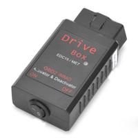 araç tarayıcıları toptan satış-Toptan-Araç VAG Sürücü Kutusu EDC15 ME7 OBD-II IMMO Deactivator Aktivatör OBD2 Tarayıcı