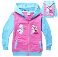 Wholesale Wholesaler Girls Clothing Manufacturers - Fall 2015 new children's clothing wholesale manufacturer wholesale princess jacket made of pure cotton fleece BH1151
