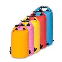 Wholesale Dry Bag 15l - Drifting Waterproof Bag 10L 15L 20L Travel Dry Bag Super Light Outdoor Barrel Bag Drifting and Camping Equipment 10pcs Free Shipping
