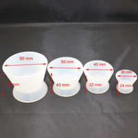Wholesale Dental Lab Silicone - New Dental Lab Silicone Mixing Bowl Cup 4 pcs set