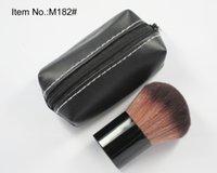 Wholesale 182 Brushes - free shipping DHL ! new hot makeup brushes 182 kabuki brush +bag make up brushes