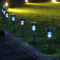 Wholesale Solar Powered Indoor Led - LED Solar Lights Solar Lawn Light Plastic Garden Outdoor Sun Light Corridor Lamp Outdoor Garden Party Lamp Solar Powered Colored Solar Lamps