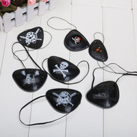 Wholesale Masquerade Accessories - One Piece Halloween masquerade accessories pirate eye patch Cosplay eye patch