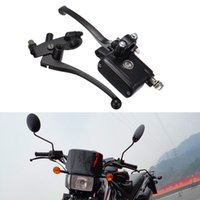 Wholesale Pair Black Custom quot mm Motorcycle Handlebar Brake Clutch Master Cylinder Levers