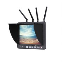 Brand New Original BOSCAM RD4 5.8G 32CH TFT 4 RX All-in-one registratore ricevitore FPV Monitor ordine $ 18no pista